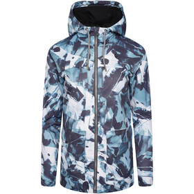 Dare 2b Deviation II Jacket Women, dragon fly green ink print